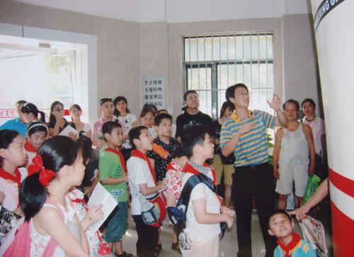 武汉市小记者参观中铁大桥局