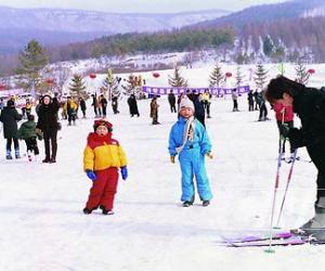 神龙架滑雪
