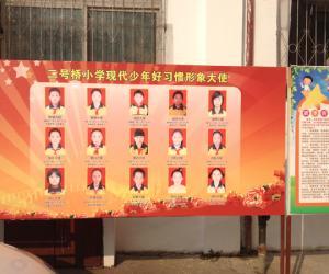 咸宁市二号桥小学现代少年好习惯形象大使公示