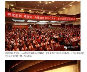 中国少年先锋队武汉市第七次代表大会隆重召开