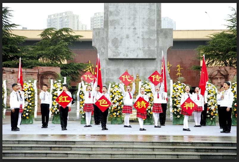 武汉市启动青少年庆祝中国共产党成立100周年系列