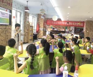 武汉12355社区行系列活动丰富暑假生活